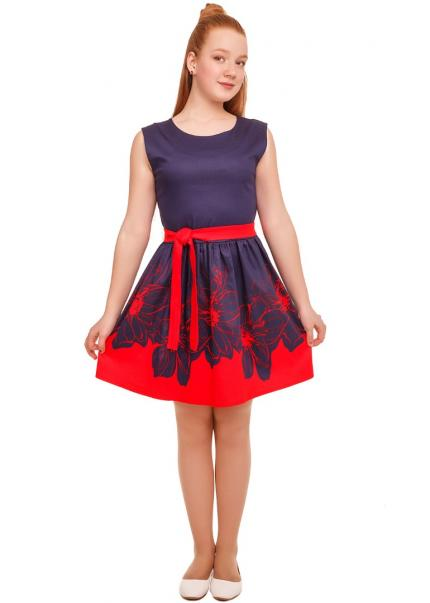 Платье Фелиция, красный
