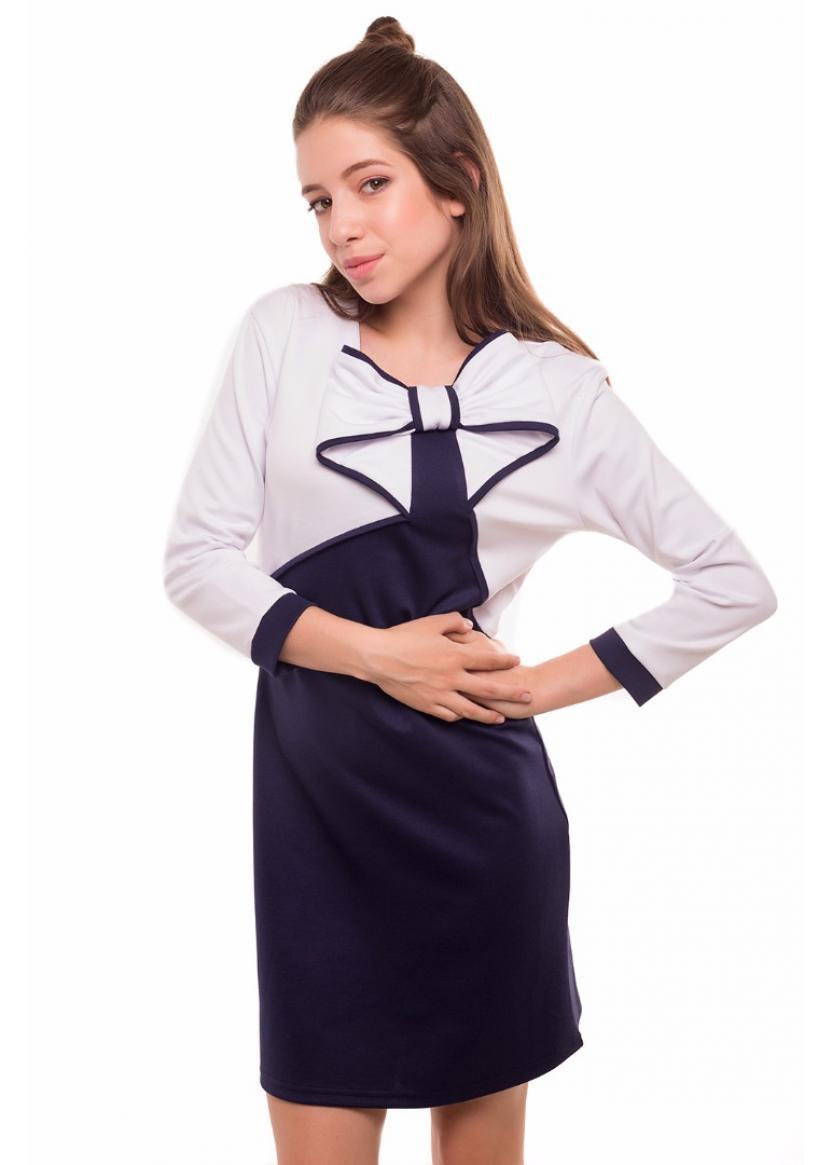 Платье Шарлиз, синий