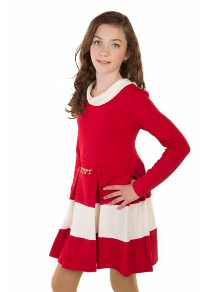 Платье Моника, красный