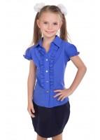 Блуза Альба, синий