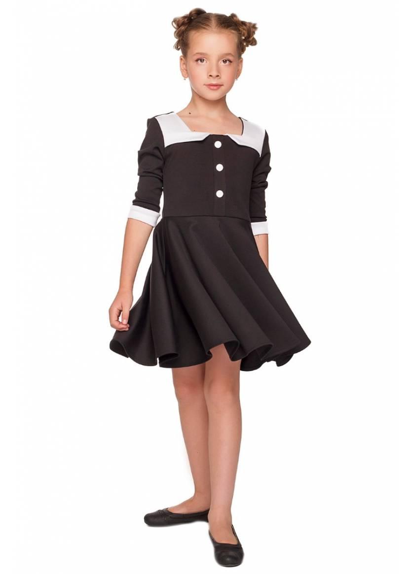 Платье Юана, черный