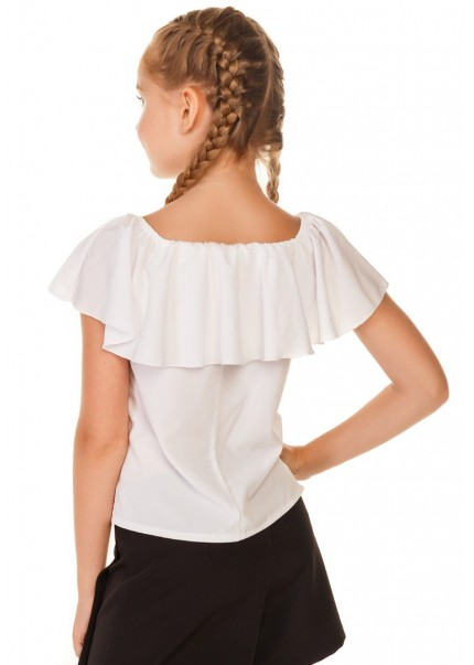 Блуза Ланита, белый