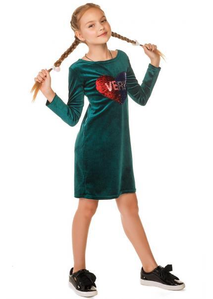 Платье Мадлен, изумрудный