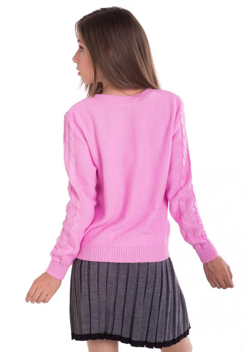 Джемпер Флора, розовый