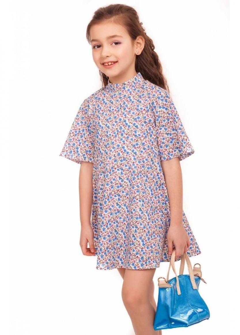 Платье Стефани, голубой