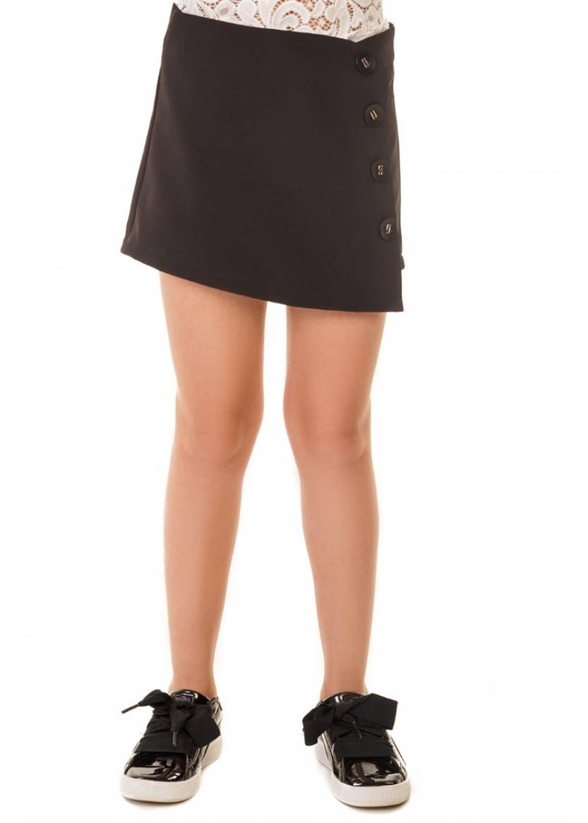 Юбка-шорты Аманда, черный