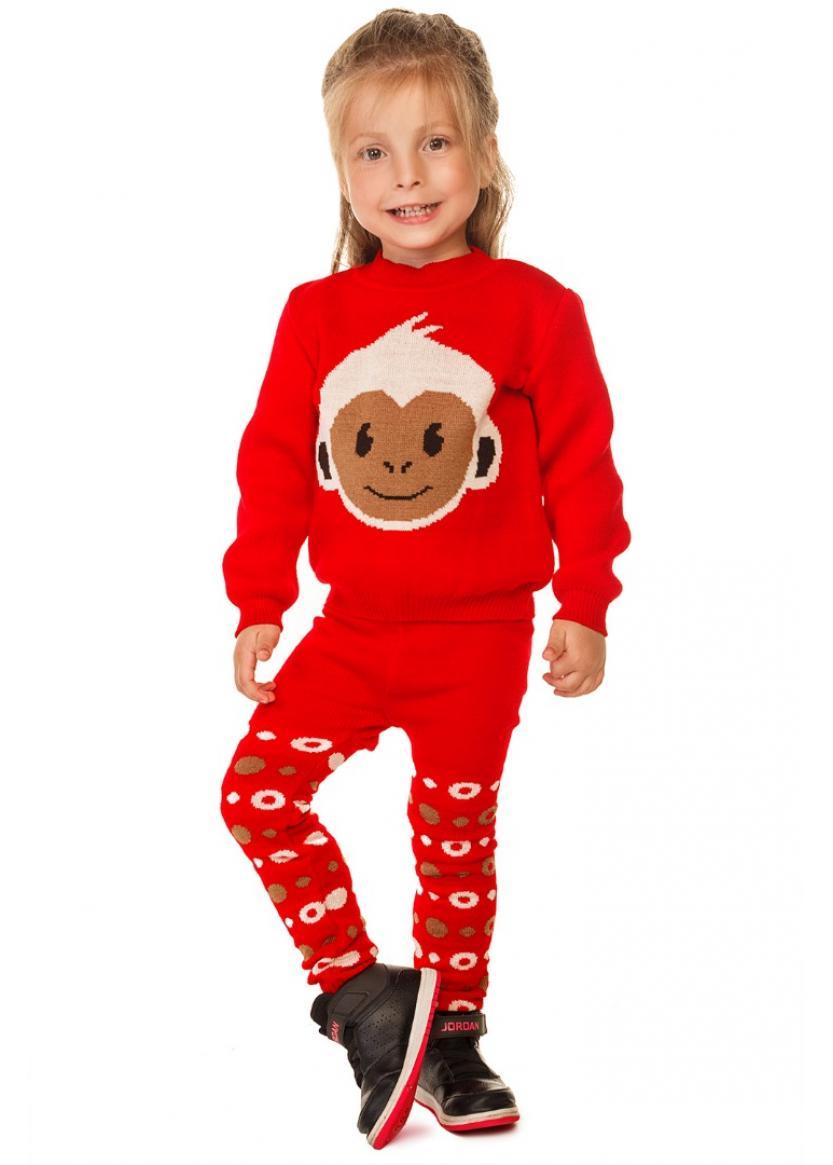 Гамаши Литл обезьянка, красный