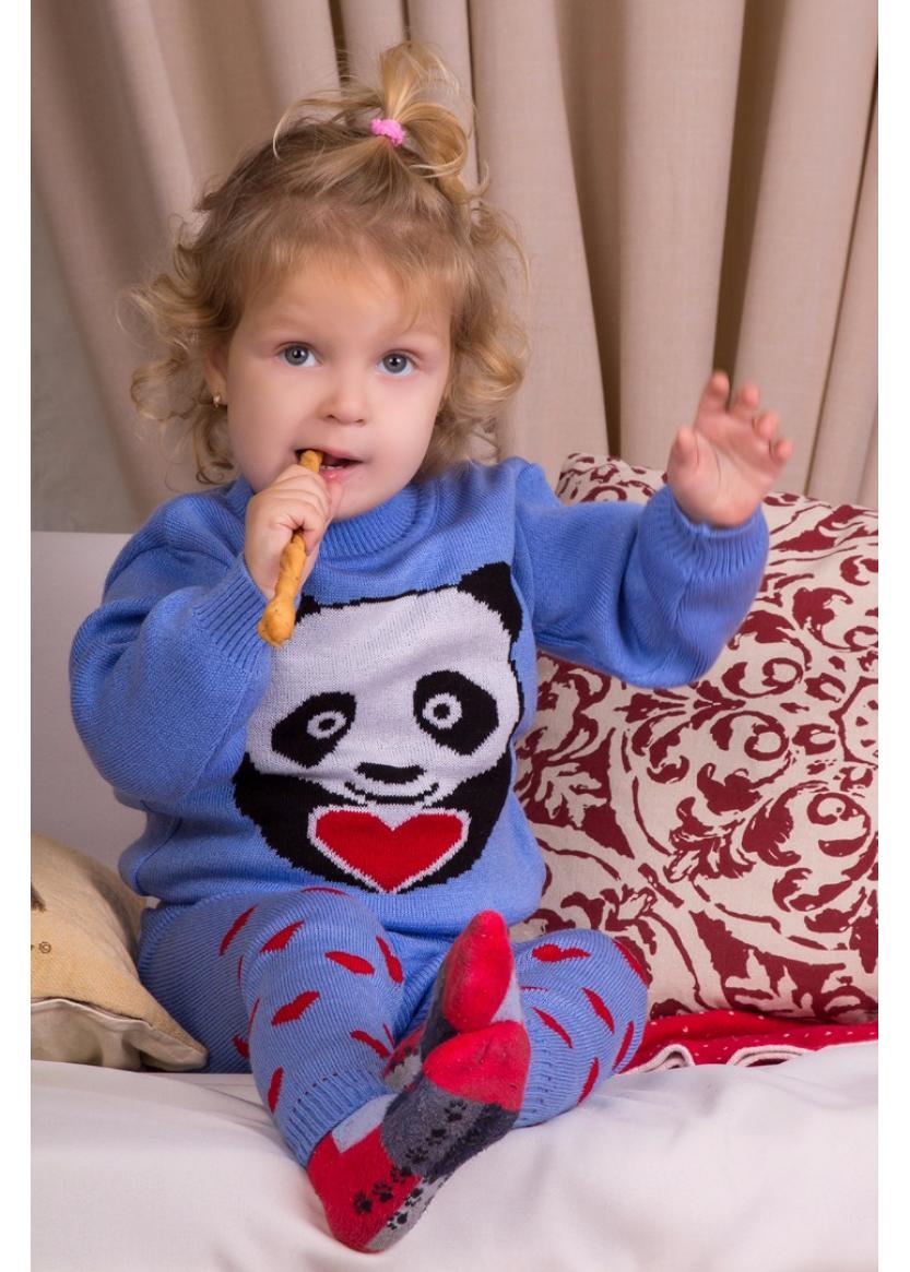 Гамаши Литл панда, голубой
