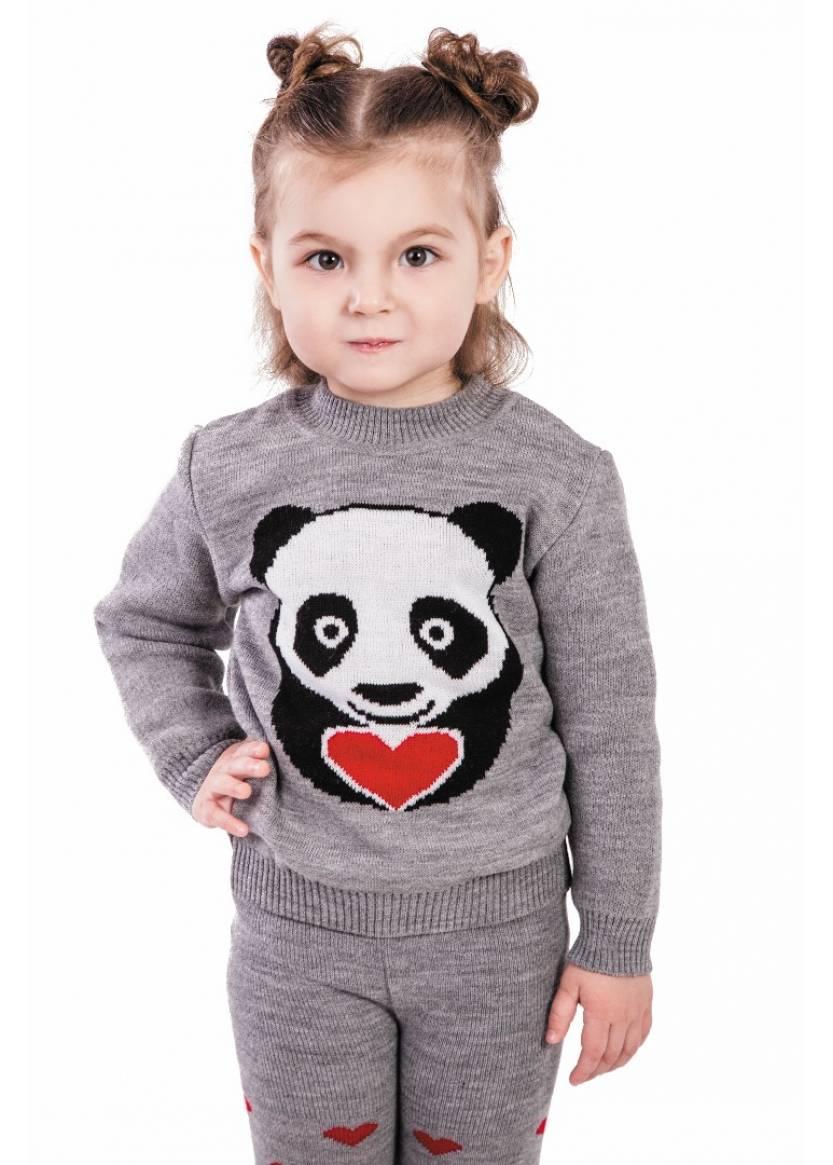 Гамаши Литл панда, серый