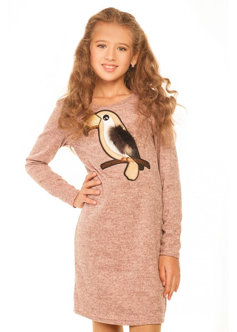 Платье Кианна, персиковый