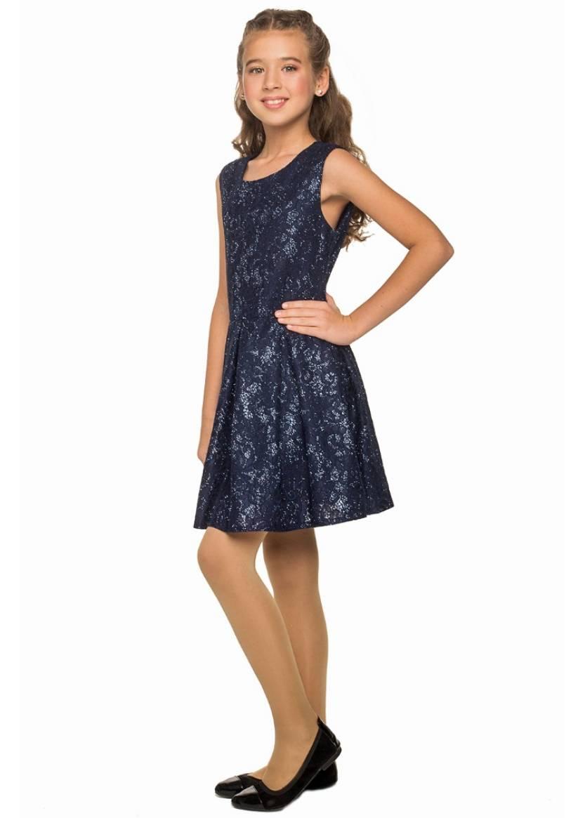 Платье Николь, синий