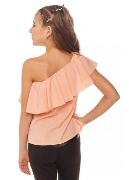 Блуза Ланита, персиковый