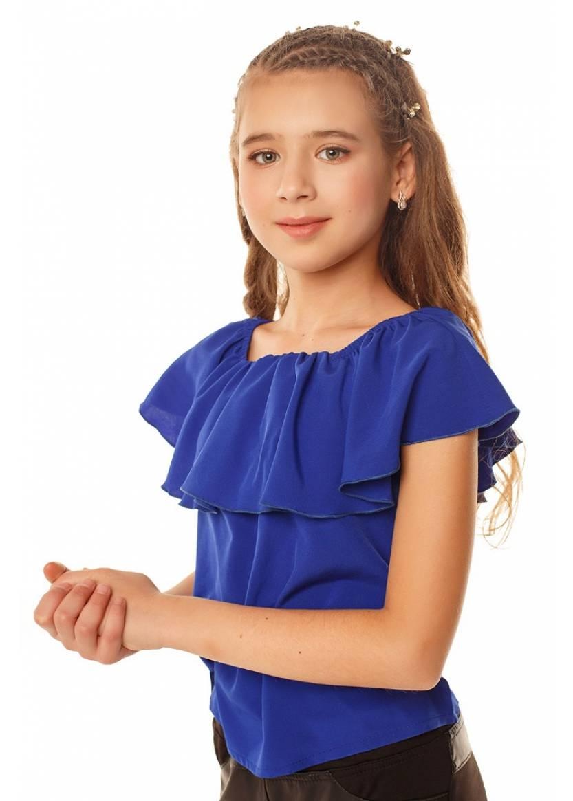 Блуза Ланита, синий