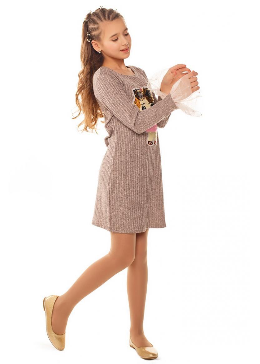 Платье Синеглазка, бежевый
