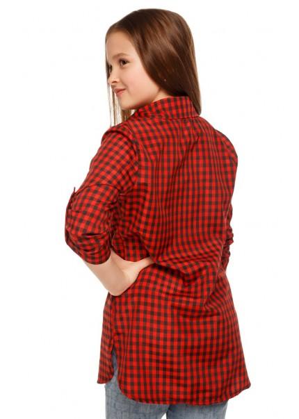 Рубашка Джуди, красный
