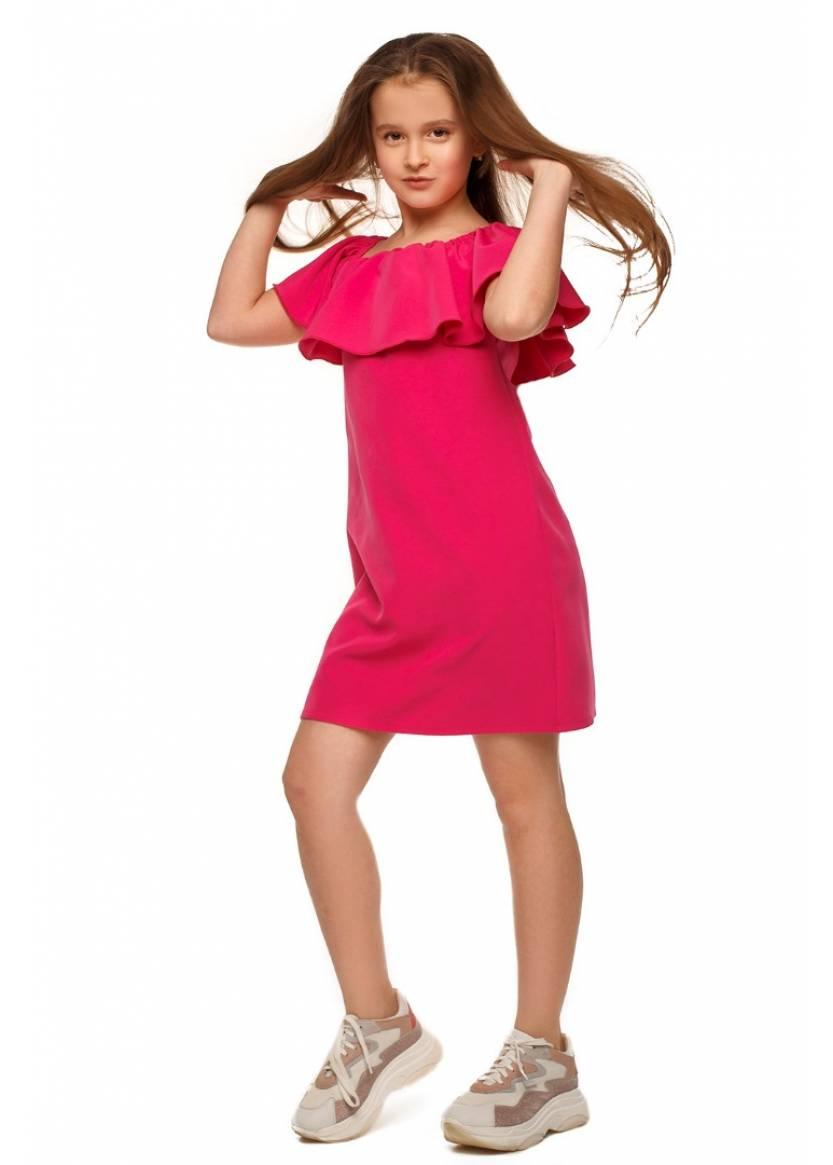 Платье Лана, малиновый