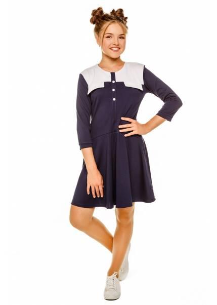 Платье Дженни, синий