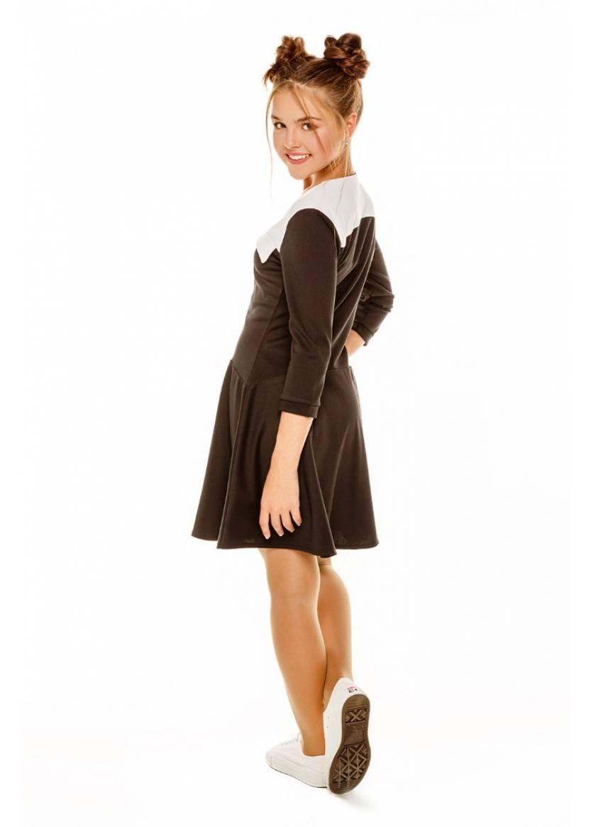Платье Дженни, черный