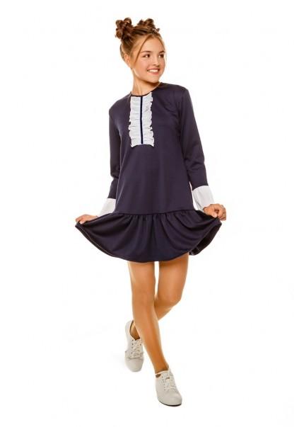 Платье Натали, синий