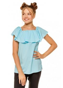 Блуза Ланита, голубой