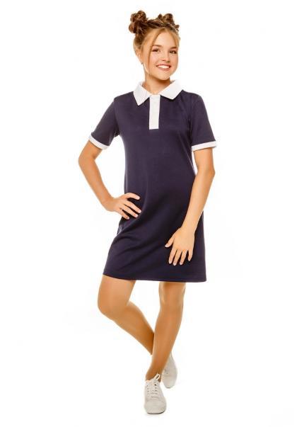 Платье Поло, синий