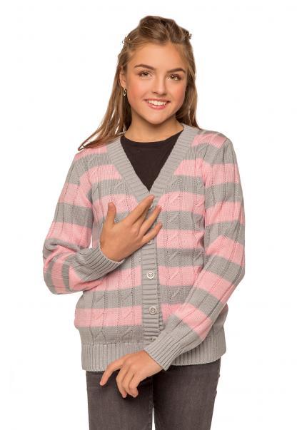 Кофта Вивьен подросток, розовый