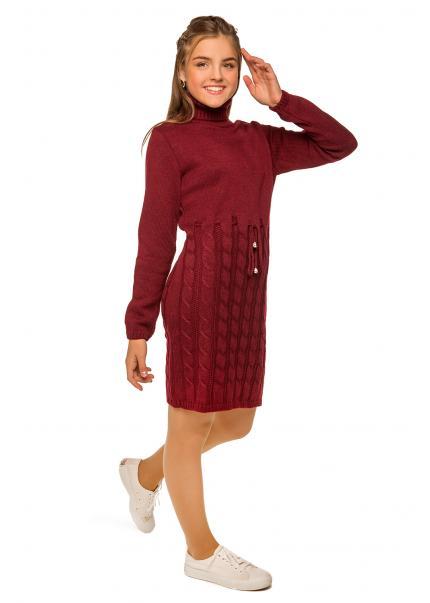 Платье Астрид, бордовый