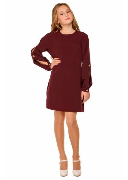 Платье Богдана, бордовый