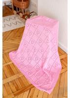 Плед Любимка, розовый