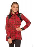 Рубашка Алекса, красный