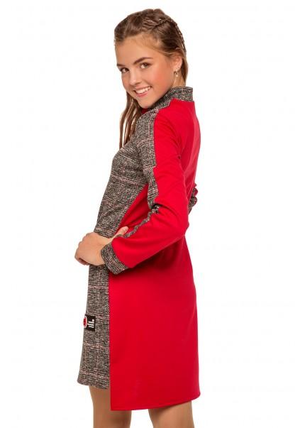 Платье Ирма, красный