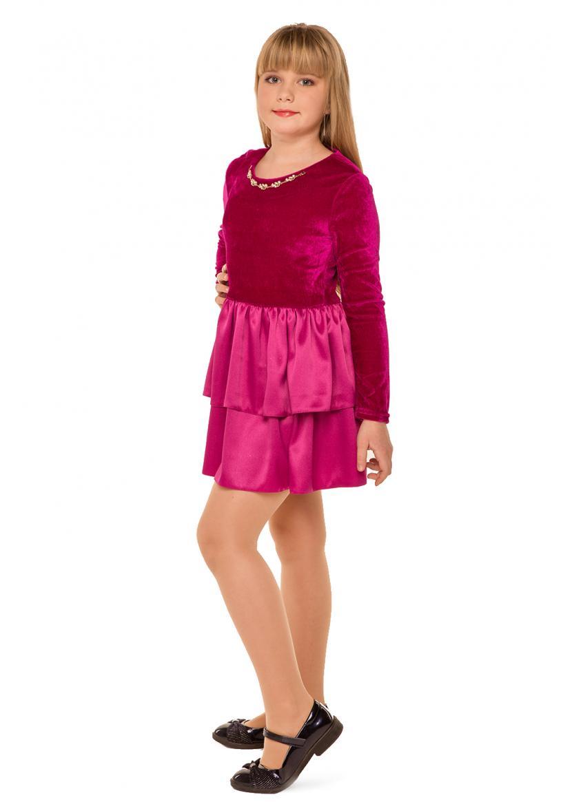 Платье Малинка, малиновый