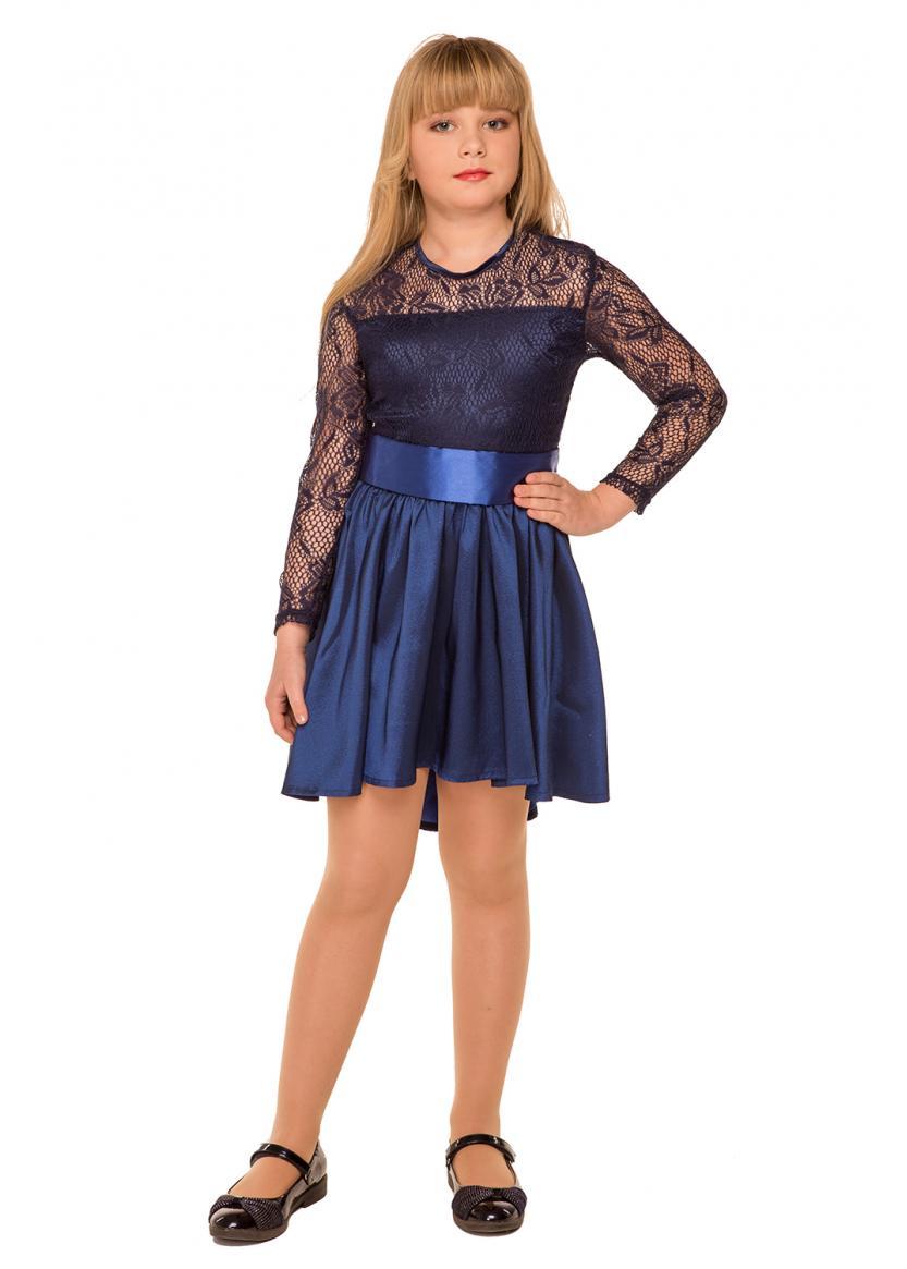 Платье Ирис, синий