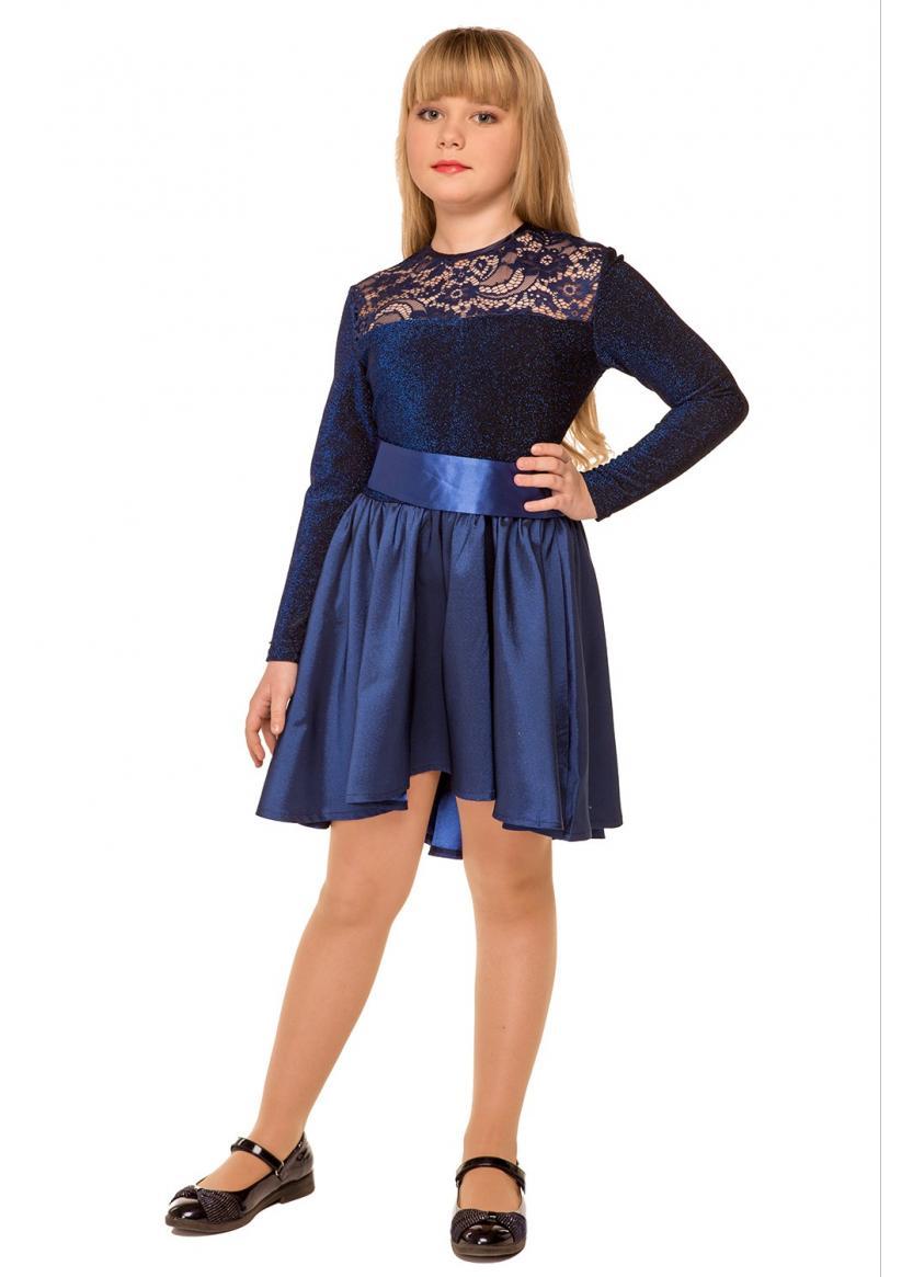 Платье Элис, синий