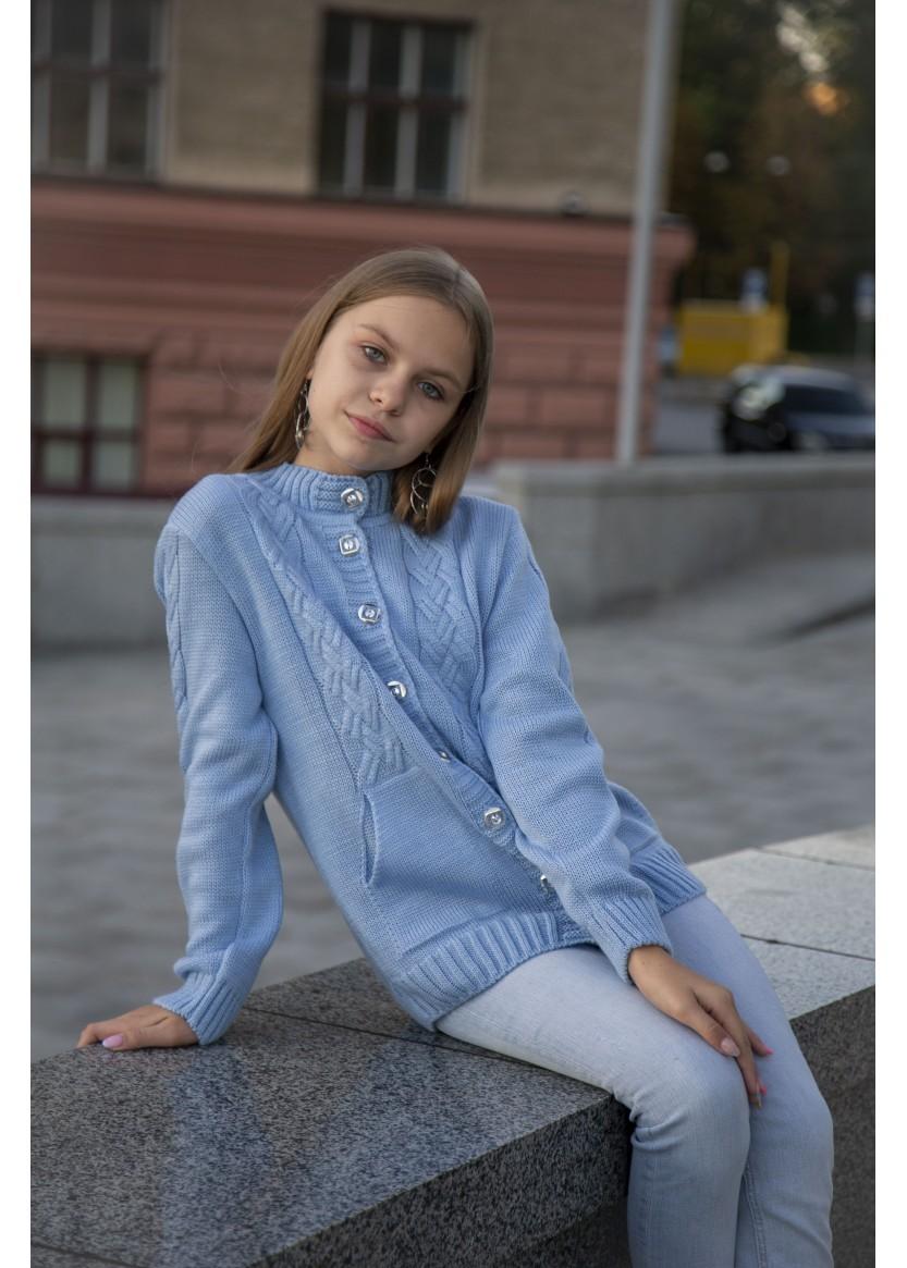 Кофта Арвен, голубой