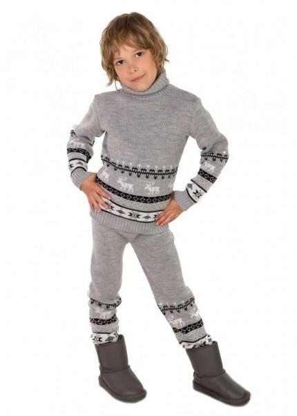 Штаны Олени детские, серый