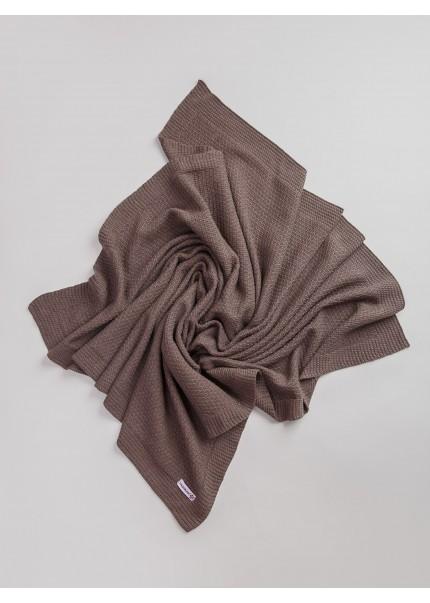 Плед Тико, коричневый