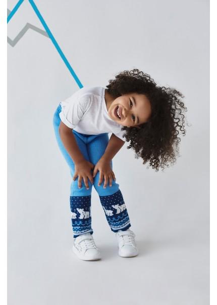 Штаны Мишка детские, голубой