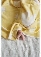 Плед Муза, желтый