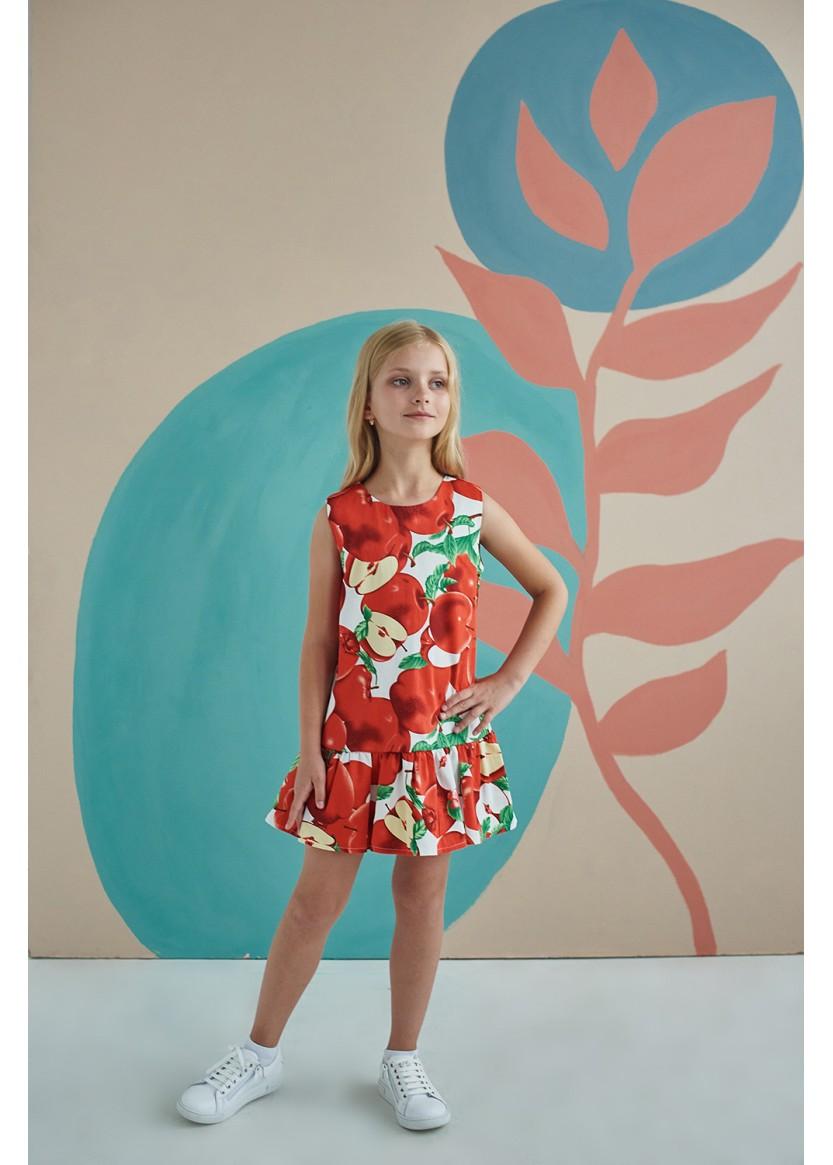 Платье Росса, красный