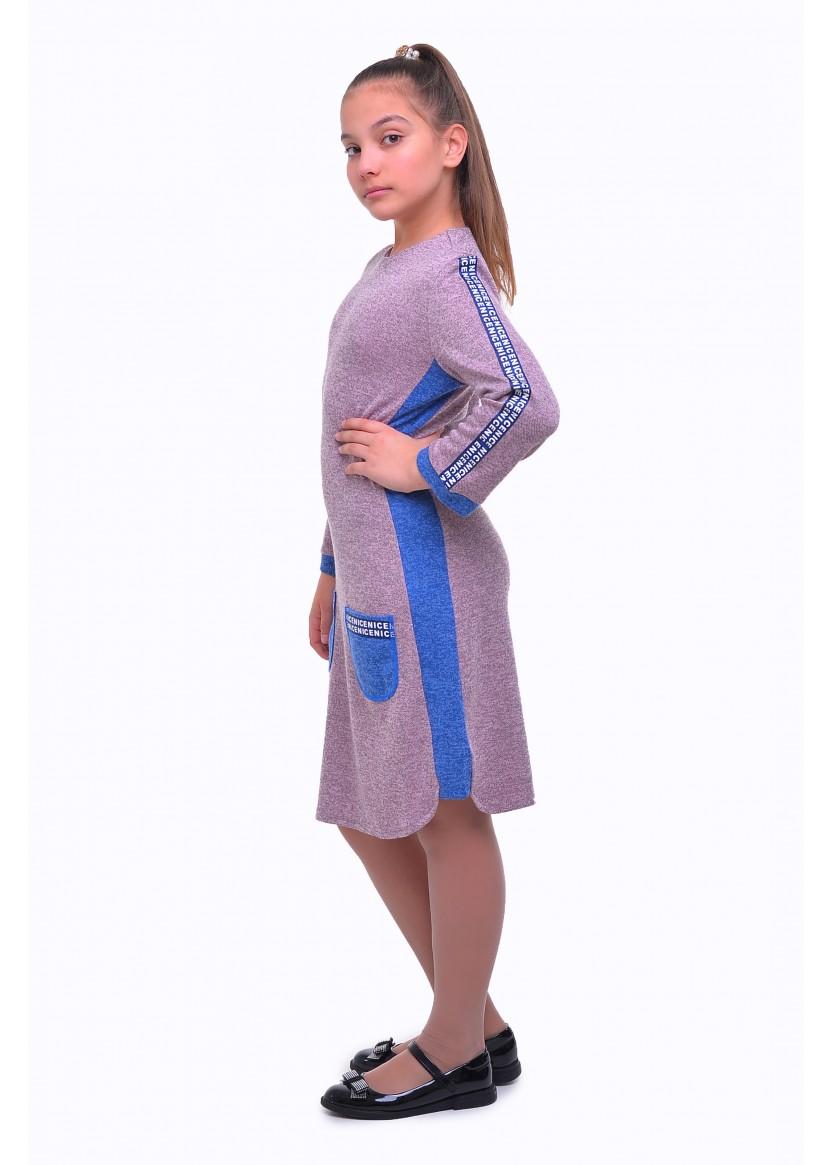 Платье Аранда, сиреневый