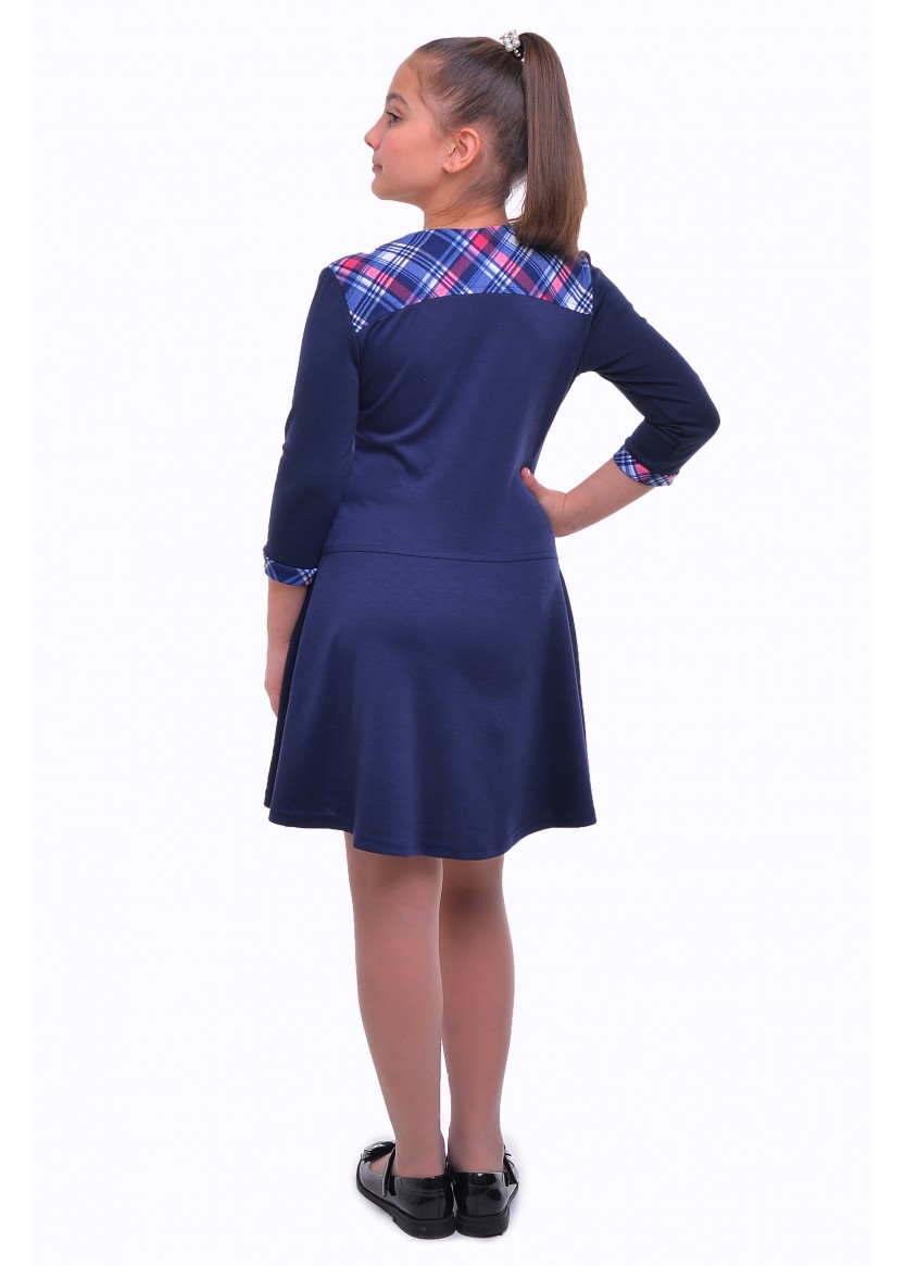Платье Люси, синий