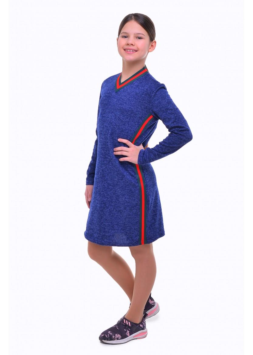 Платье Олимп, синий