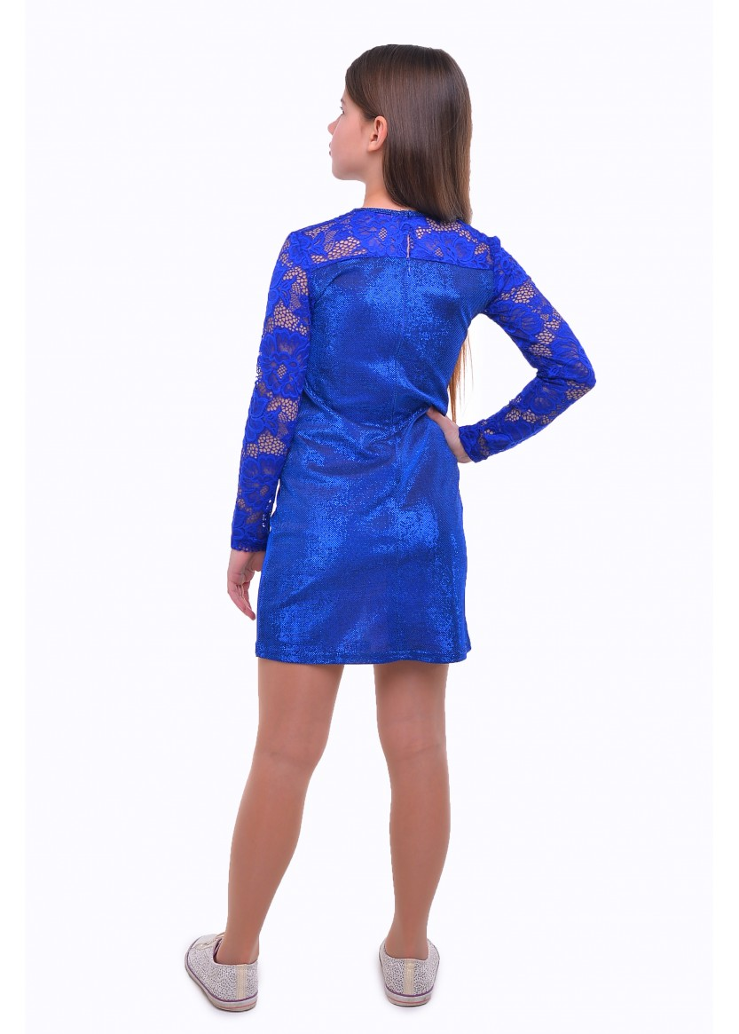 Платье Луиза, синий