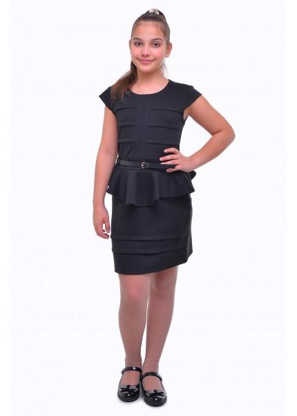 Платье Кокетка, черный