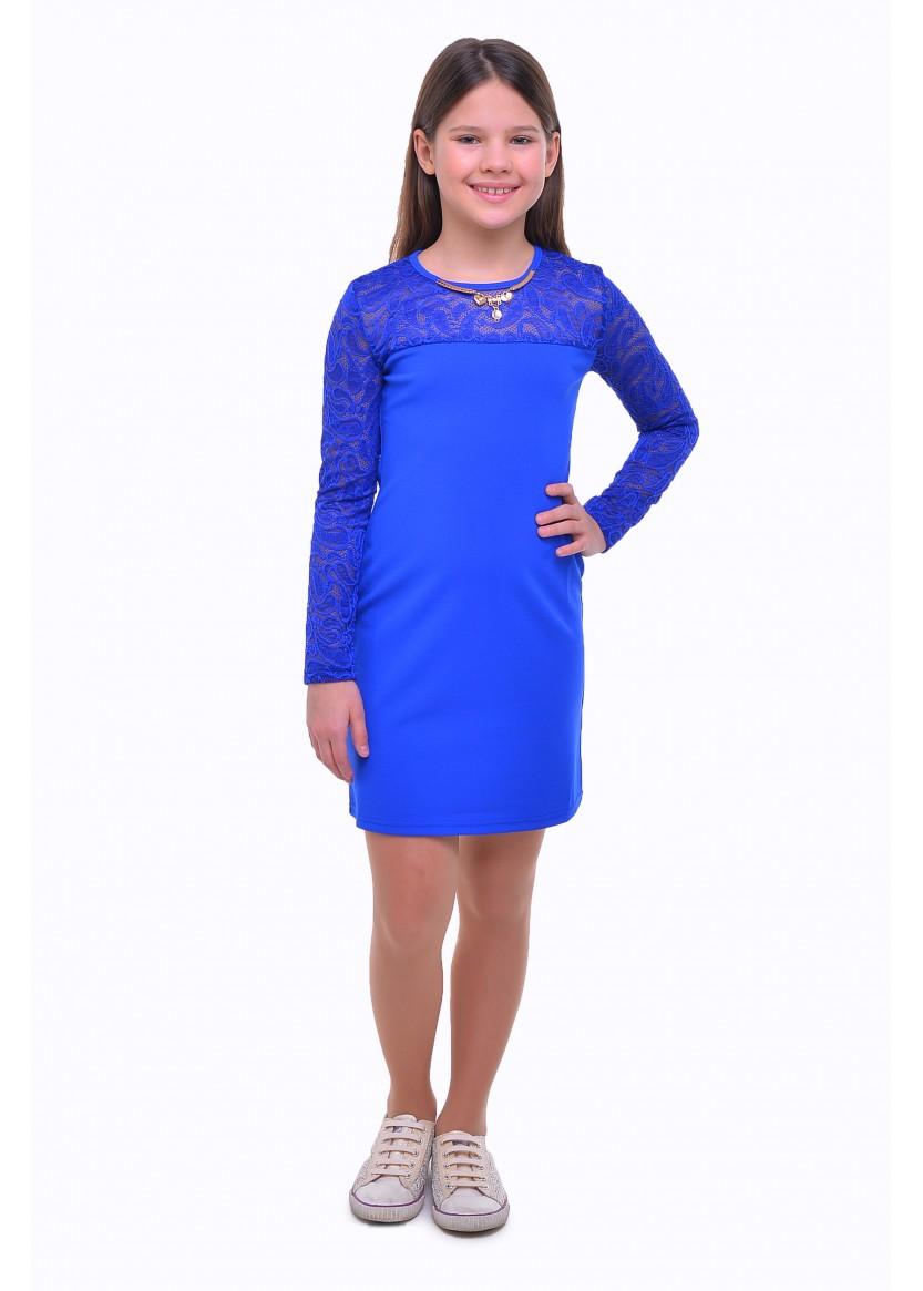 Платье Лиза, синий