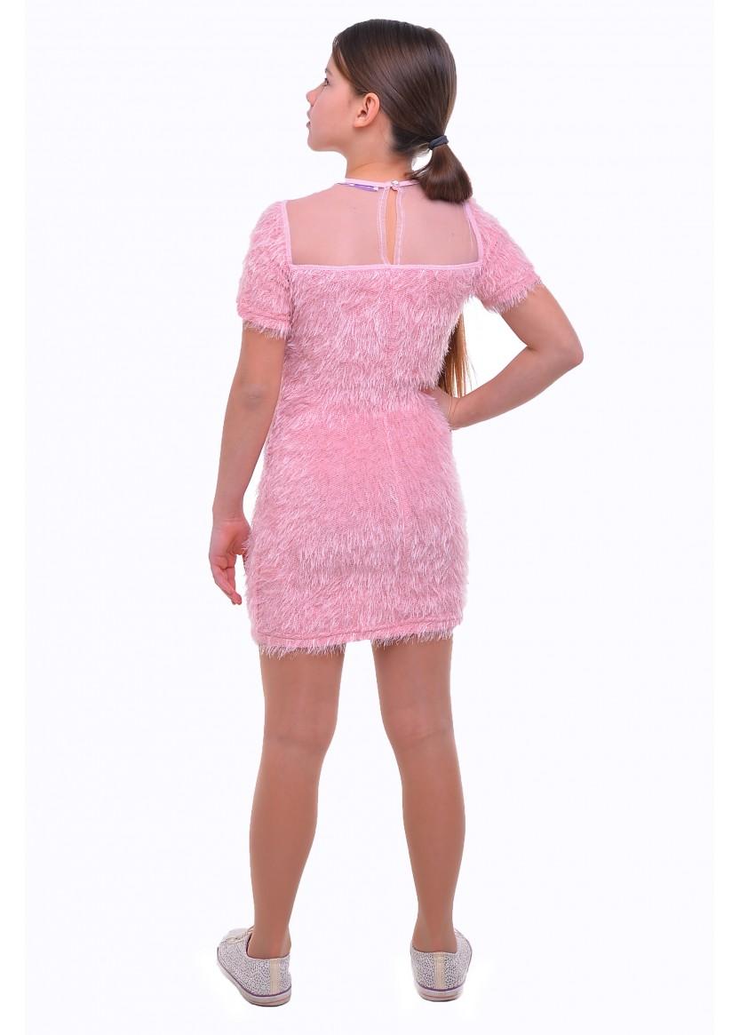 Платье Эдита, персиковый