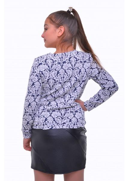 Блуза Полина, синий