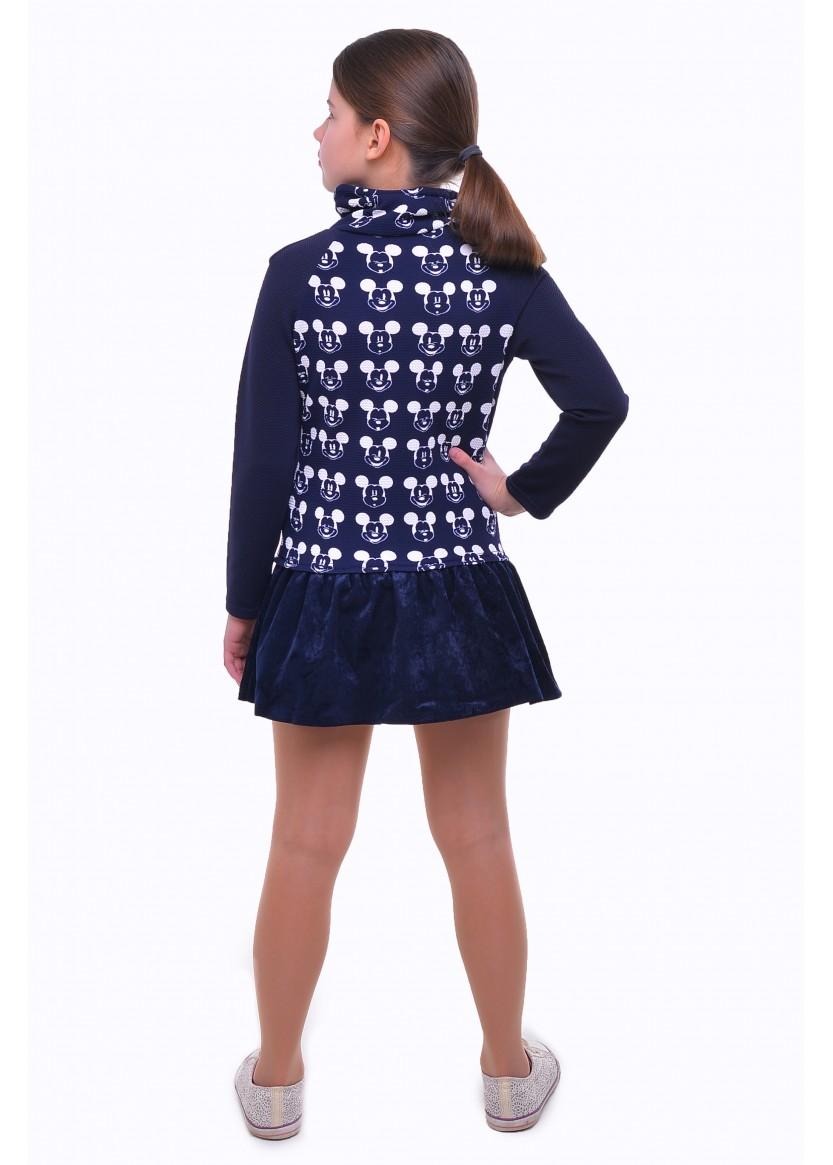 Платье Микки, синий