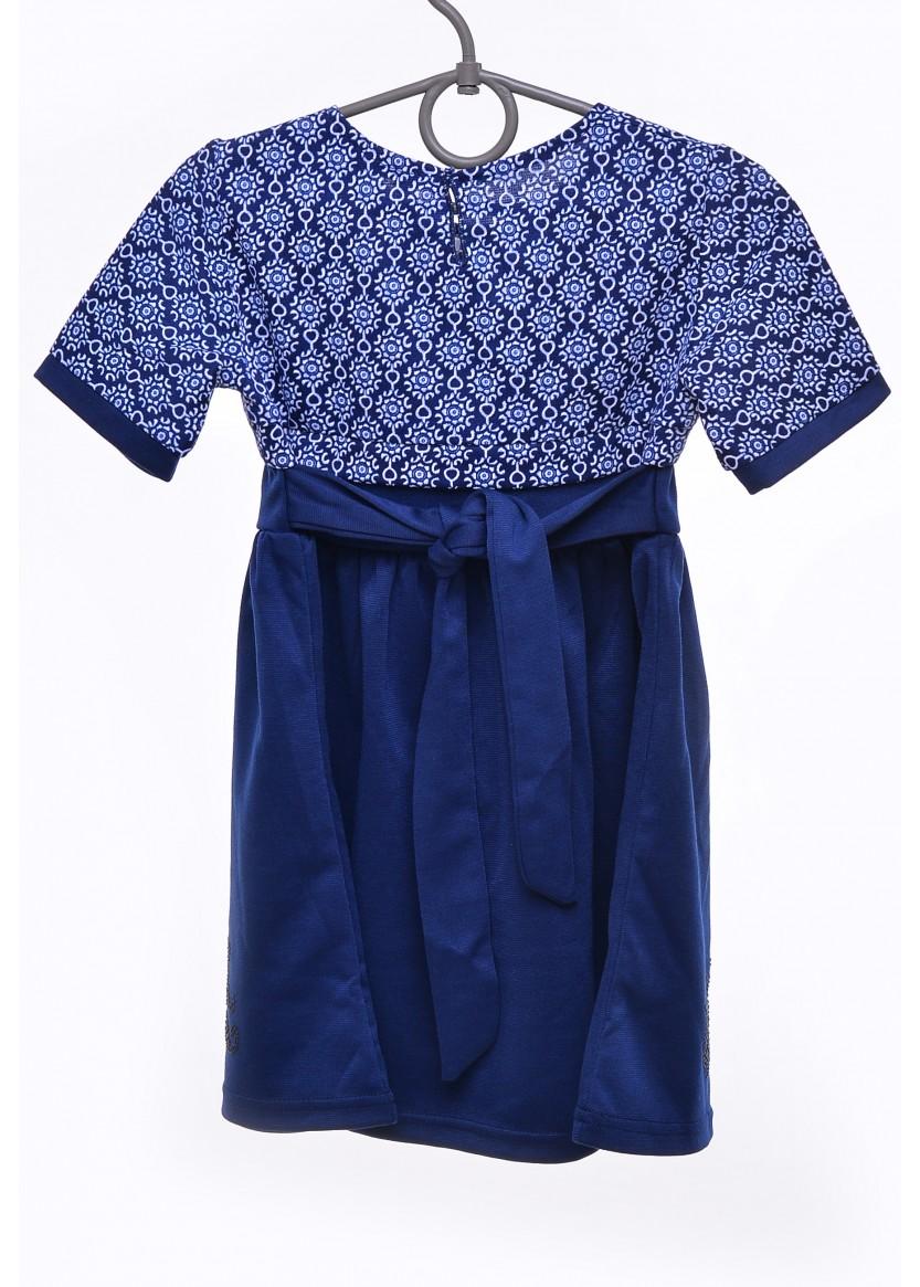 Платье Снежана, синий